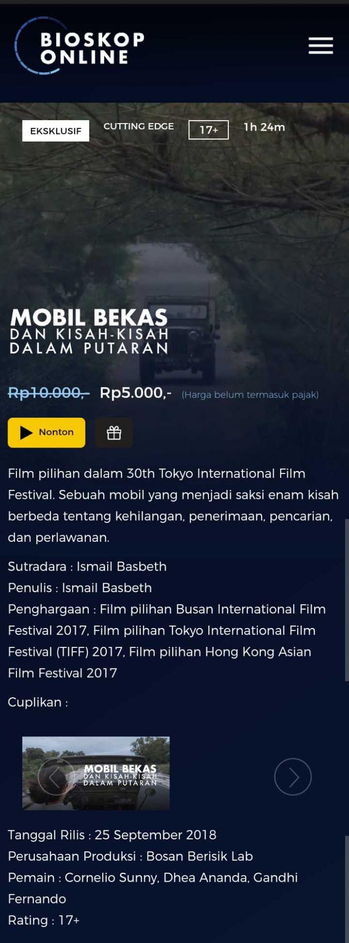 Bioskop Online Tempat Berburu Film Indonesia Yang Legal Kincir Com