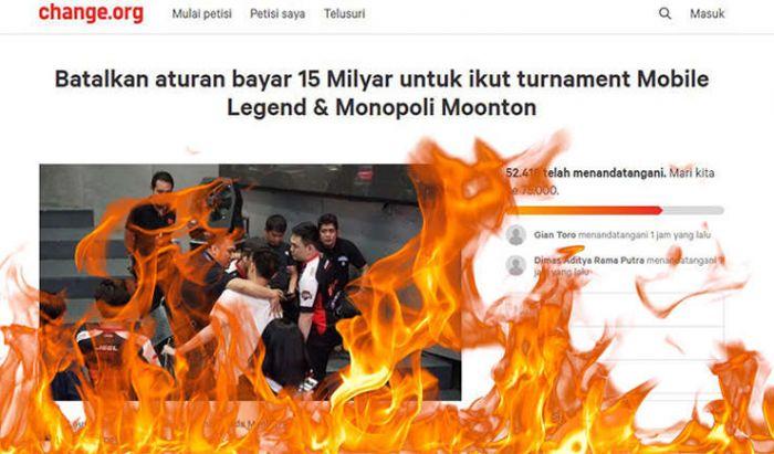 Petisi Franchise League Erick Herlangga.