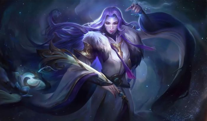Luo Yi Hero Mage Mobile Legends.