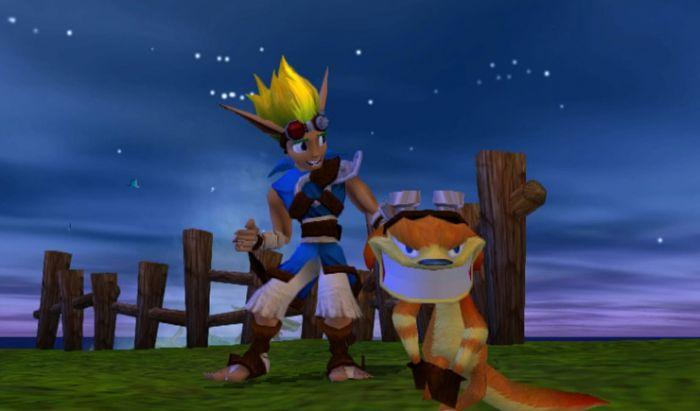 Jak dan berang-berang kawannya, Daxter.