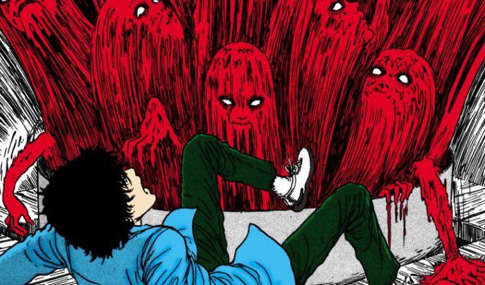 Monster horor di salah satu karya Ito, Tomie.
