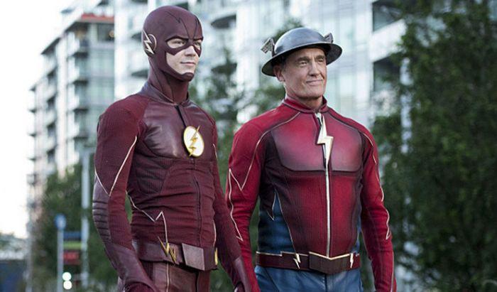 Barry Allen dan Jay Garrick