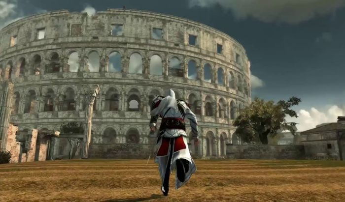 Colosseum di Assassin's Creed: Brotherhood.