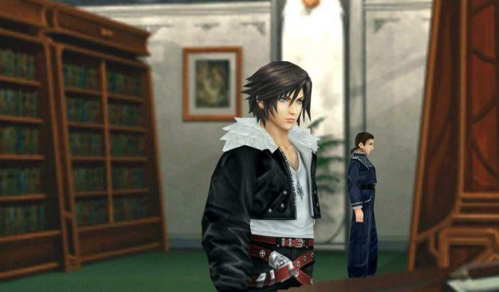 Penampakan Squall di Final Fantasy 8 Remastered.