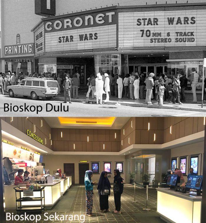Nonton film bioskop dulu dan sekarang