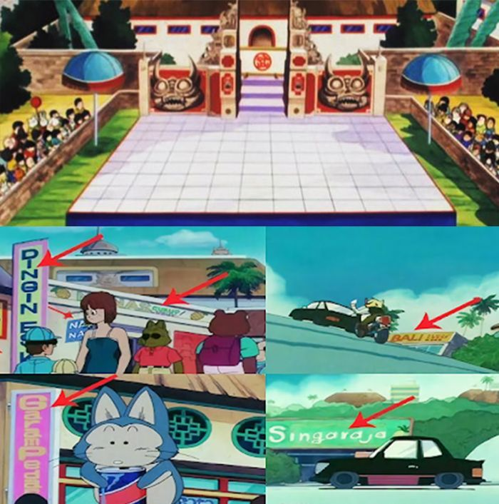 Anime Populer yang Mengandung Unsur Indonesia