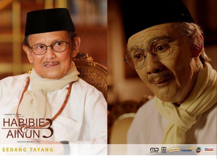 Artis yang Pernah Perankan Sosok Presiden Indonesia.