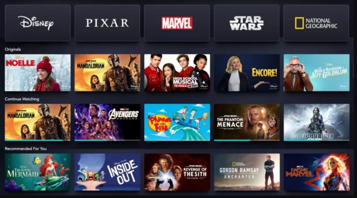Disney+ Hotstar Hadir di Indonesia September 2020.