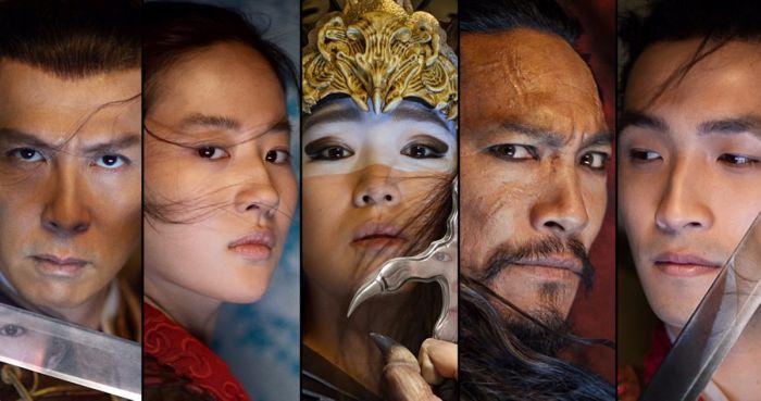 Para pemain film Mulan