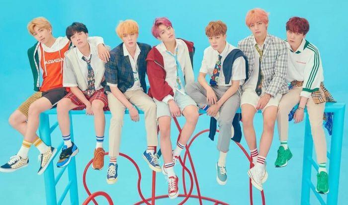 Blue Sky Drama Korea BTS