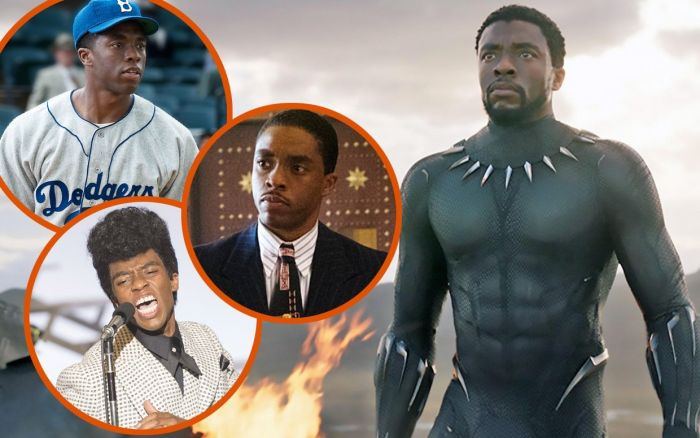 Film-film Chadwick Boseman.