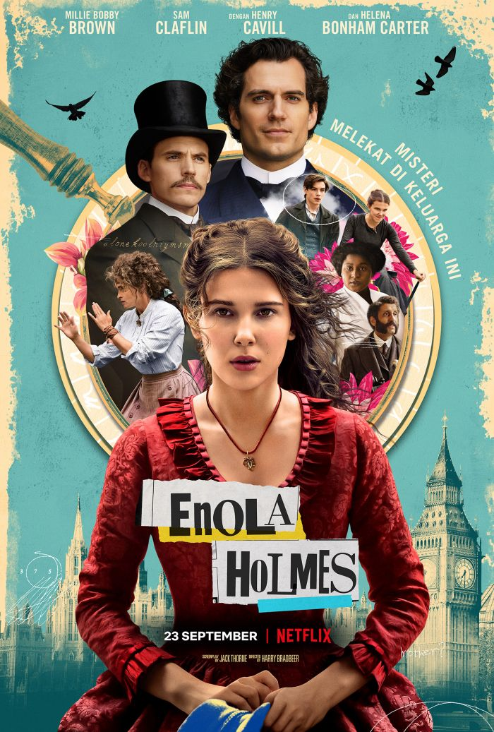 Poster Film Enola Holmes Netflix