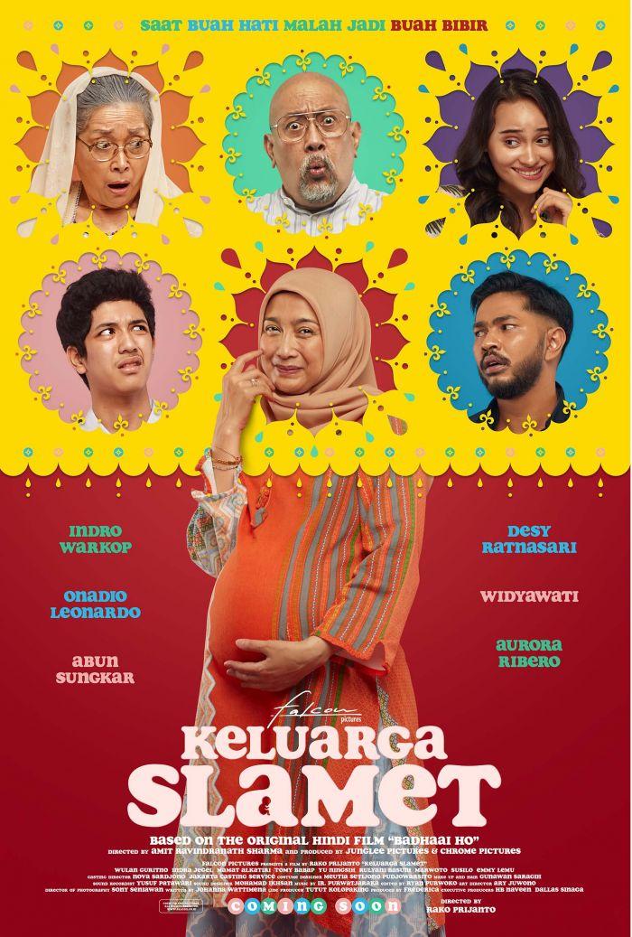 Poster Film Keluarga Slamet