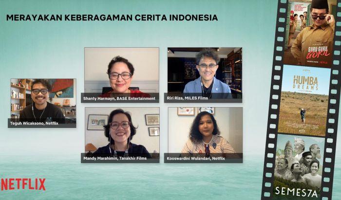 Diskusi Panel Netflix Indonesia
