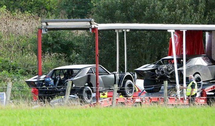Inilah Tampilan Batmobile The Batman pada Siang Hari