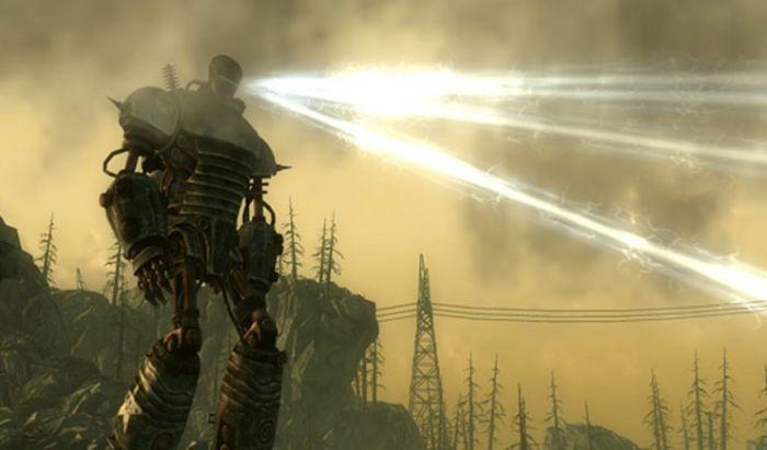 Sosok Liberty Prime di Fallout 3.