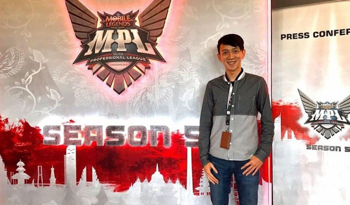 Lius Andre, Mantan Manajer Esports Moonton Indonesia yang bakal jadi caster Piala Menpora Esports 2020 AXIS.