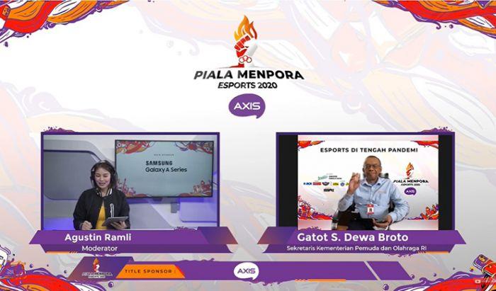 Virtual Media Talk Piala Menpora Esports 2020.
