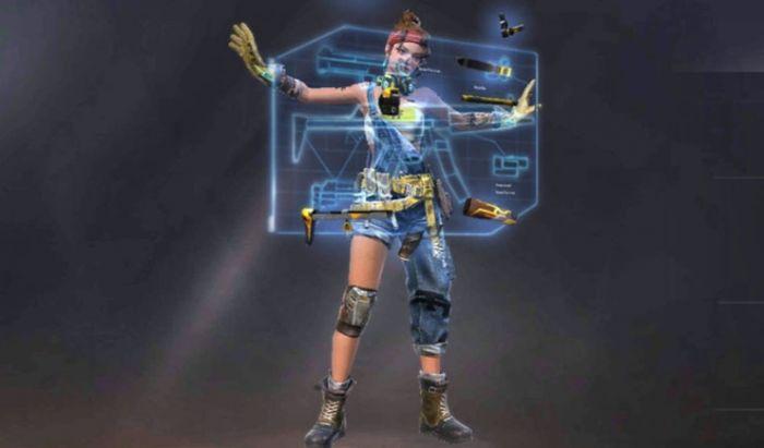 Shani bisa mendaur ulang senjata jadi Armor.