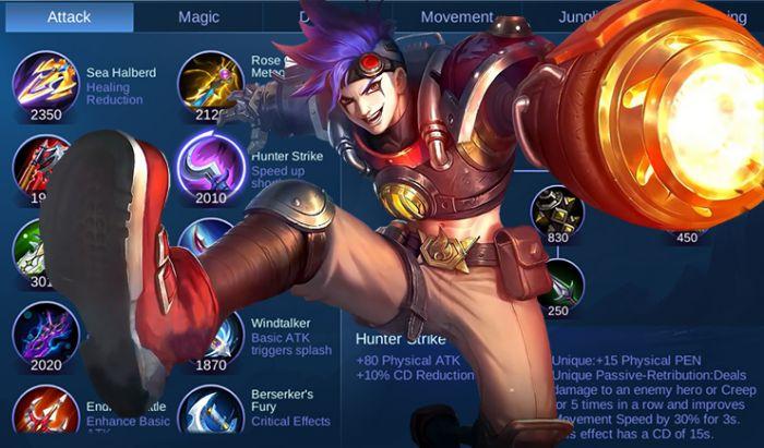 Hunter Strike Mobile Legends.