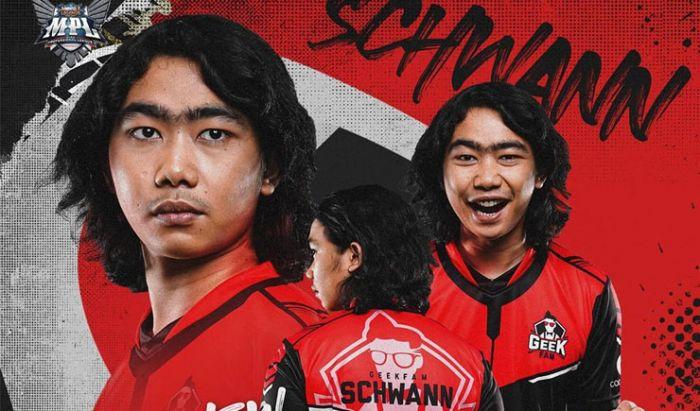 Schwann roster MPL terbaru dari Geek Fam