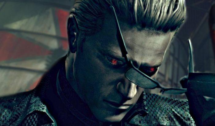 Albert Wesker, karakter yang sempat jadi antagonis di serial gamenya.
