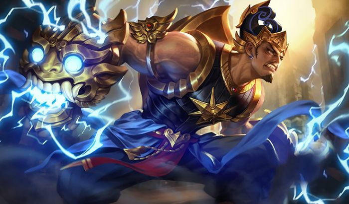 Gatotkaca. Hero Counter Khaleed Mobile Legends.