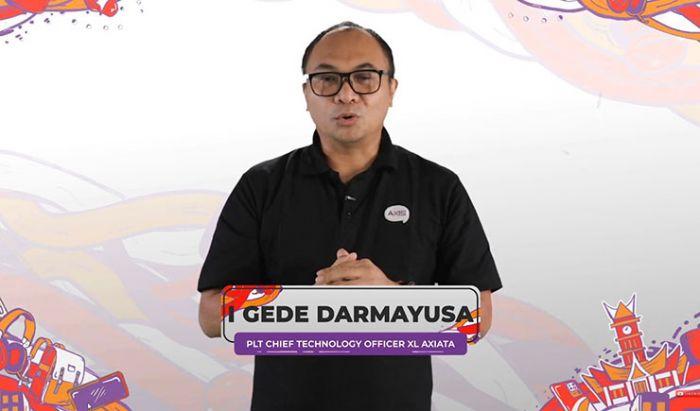 Bapak I Gede Darmayusa, PLT Chief Technology Officer XL Axiata.