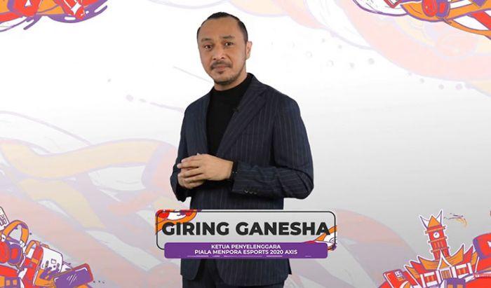 Giring Ganesha, Ketua Pelaksana Piala Menpora Esports 2020.