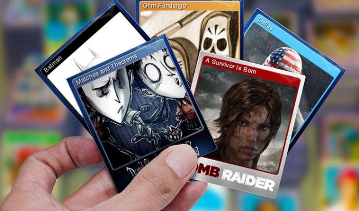 Trading Cards akan tersimpan di Inventory setiap pemain.