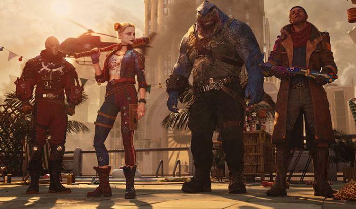 Para karakter di Suicide Squad: Kills the Justice League.
