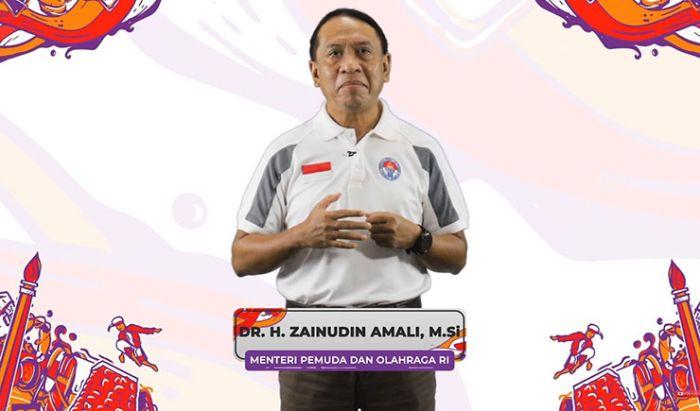 Bapak Zainuddin Amali, Menteri Pemuda dan Olahraga Republik Indonesia.