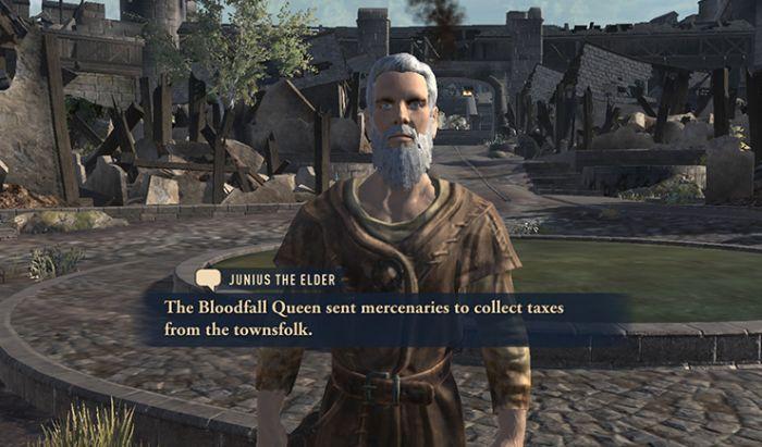 The Elder Scrolls: Blades. Tangkapan Layar