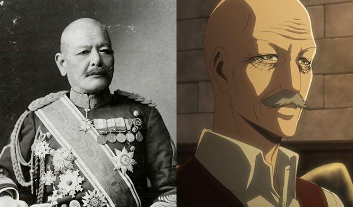 """Jenderal Akiyama Yoshifuru dan Dot Pixis. Kesamaan yang terlalu """"mirip"""" untuk dibilang sebuah kebetulan."""