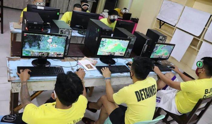 Turnamen DOTA di Penjara Filipina.