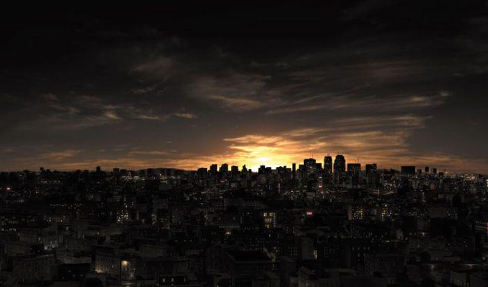 Raccoon City terinspirasi dari kota besar seperti New York.