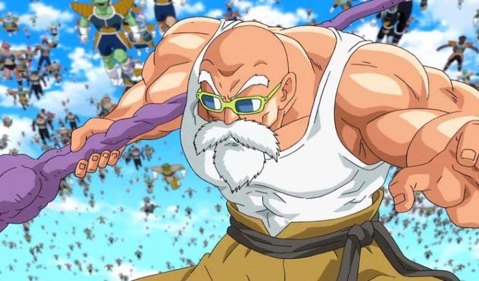 Master Roshi terlihat sangat perkasa di anime Dragon Ball Super.