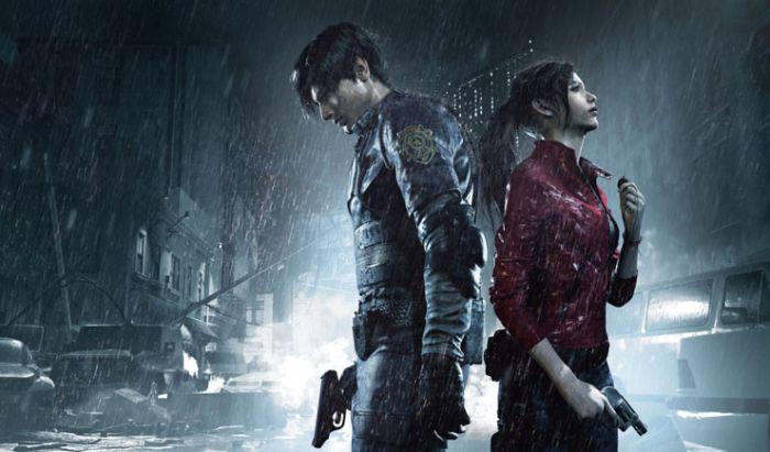 Leon dan Claire di Resident Evil 2 REmake.