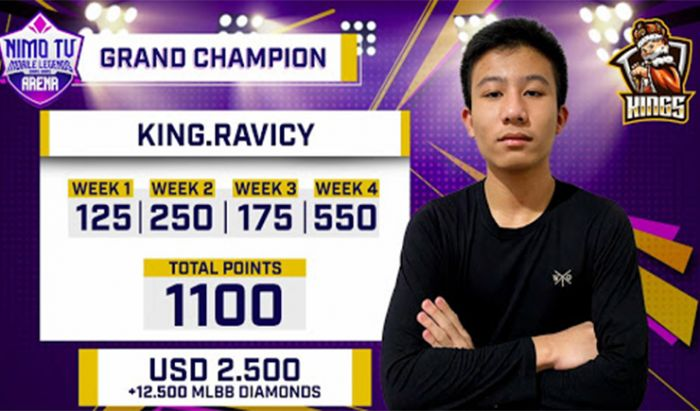Juara Nimo TV Mobile Legends Bang Bang Star Battle