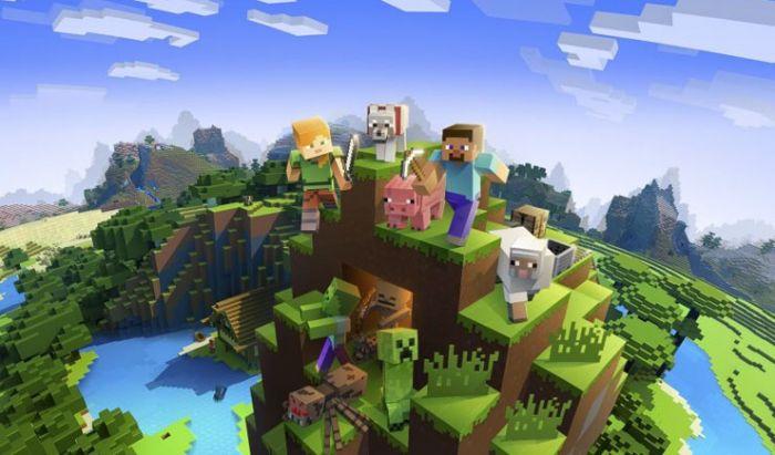 Minecraft dinobatkan sebagai game terlaris dan dimainkan lebih dari ratusan juta pemain.