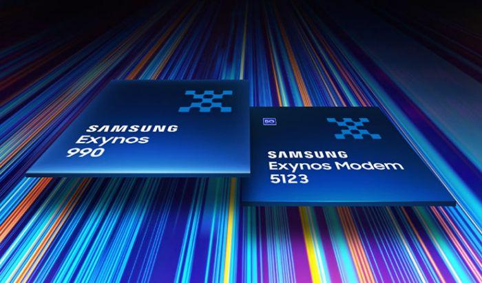 Exynos Modem 5213 yang digunakan pada Samsung Galaxy Note20 Series.