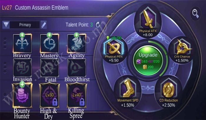 Emblem Bounty Hunter.