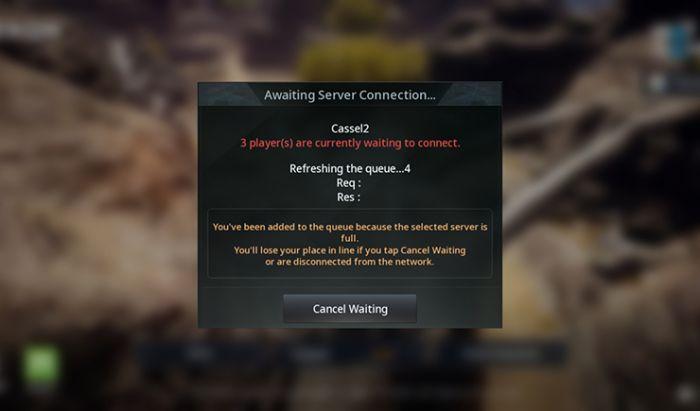 Masalah klasik MMORPG mobile hadir di V4. Tangkapan Layar.