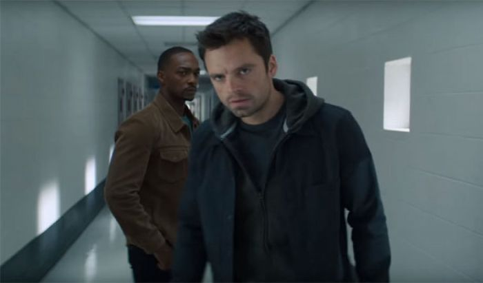 Serial Falcon and Winter Soldier Marvel