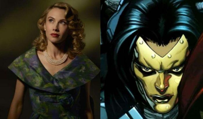 Wynn Everett sebagai Madame Masque di Agent Carter