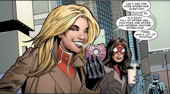 Captain Marvel dan Spider-Woman