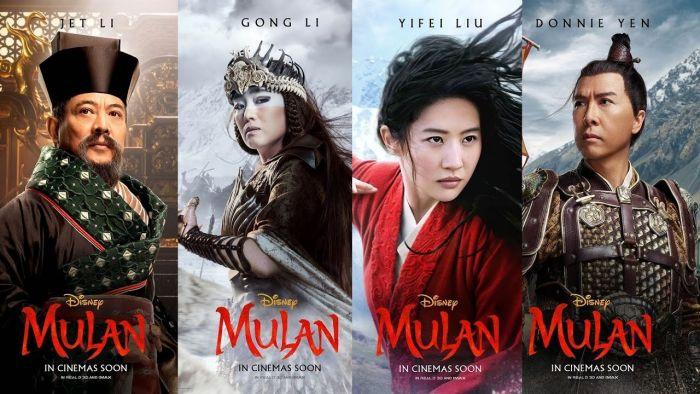 Para Cast film Mulan.