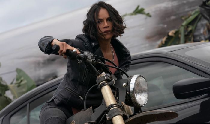 Michelle Rodriguez, pemain film Fast & Furious 9.