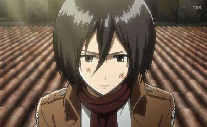 Mikasa Ackerman:  Tipe Karakter Dere Anime.