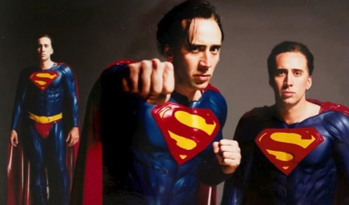Superman Versi Nicolas Cage Film The Flash